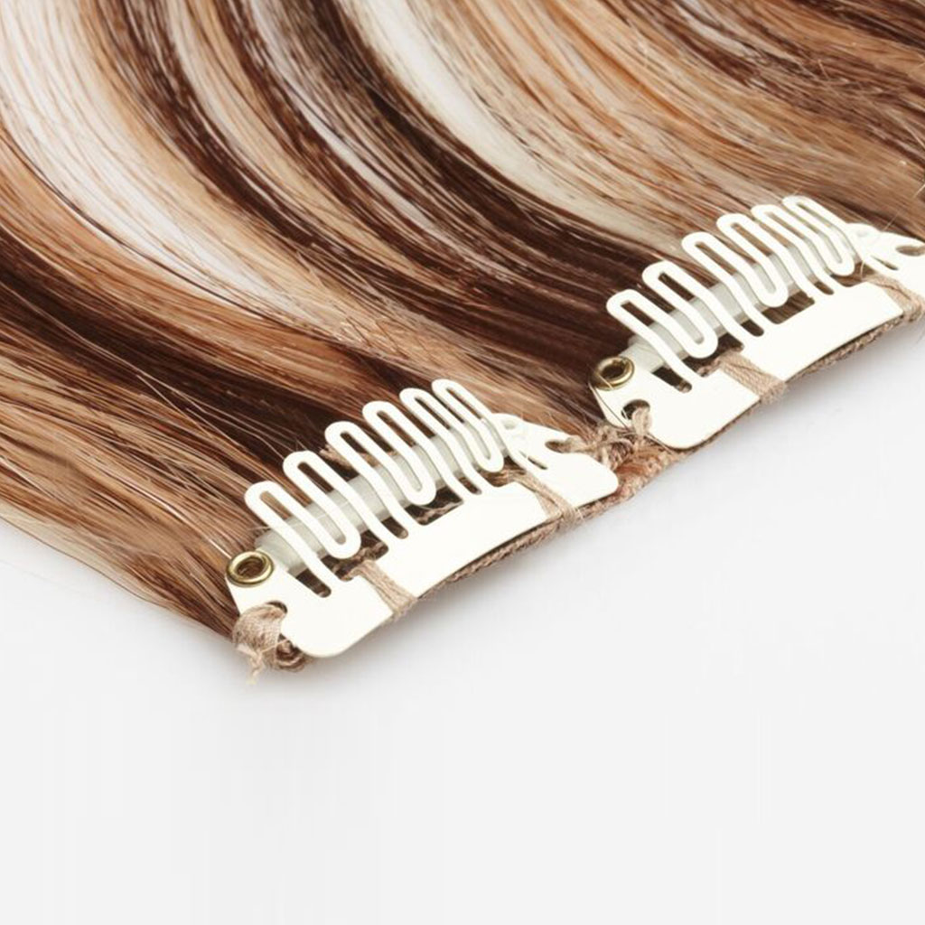 Clip In Female Luxurious Hair Extensions For More Length Volume