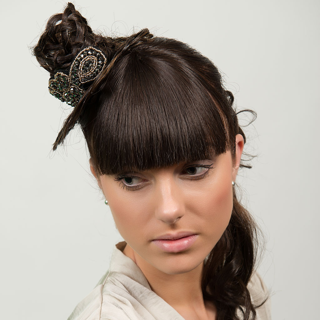 Fringe Clip In Bangs With Fringe Hair Extensions In A Matter Of