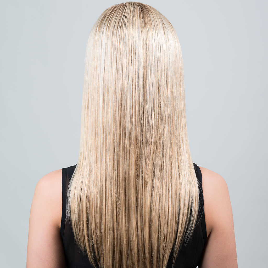 Weft System Model Back Hair Extensions By Using Braids Clips Or