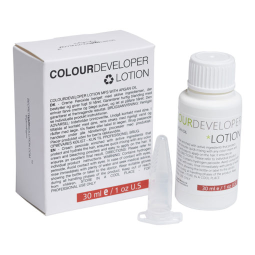 Colour developer lotion
