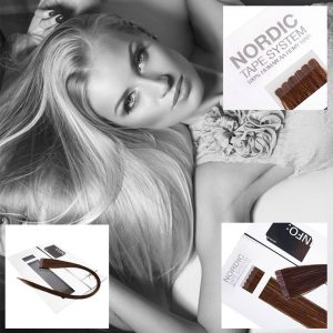 Nordic Tape Hair Extensions