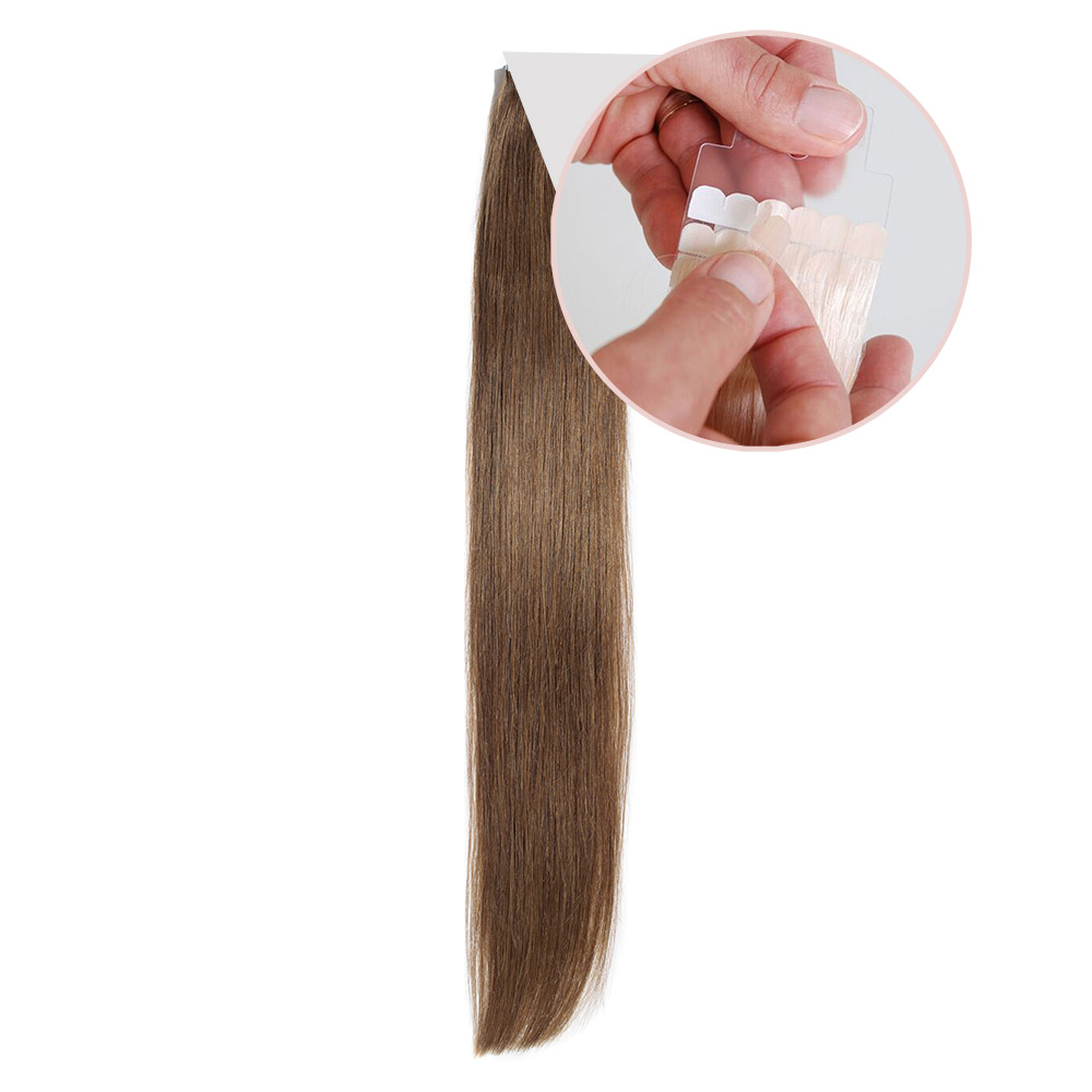 Nordic Tape Hair Extensions 45cm 100 Premium Remy Human Hair