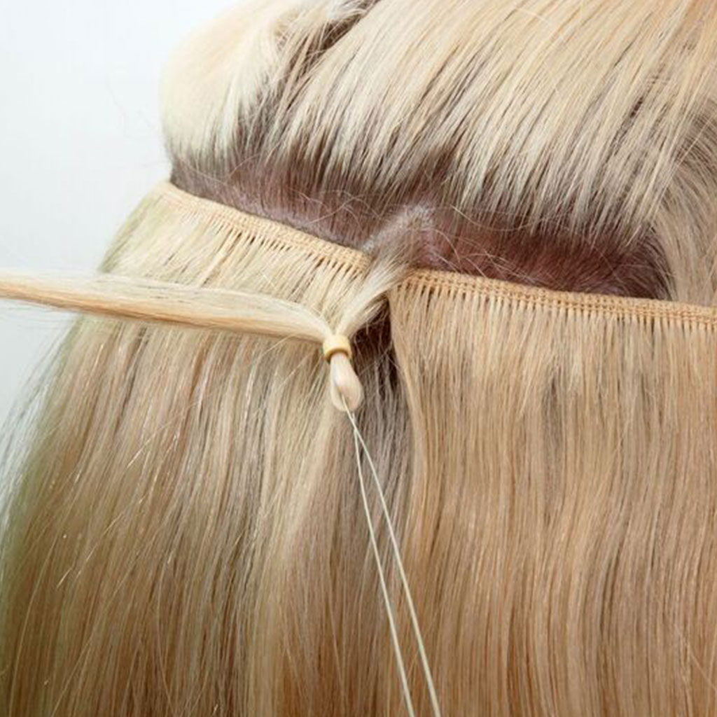 hair weft extensions