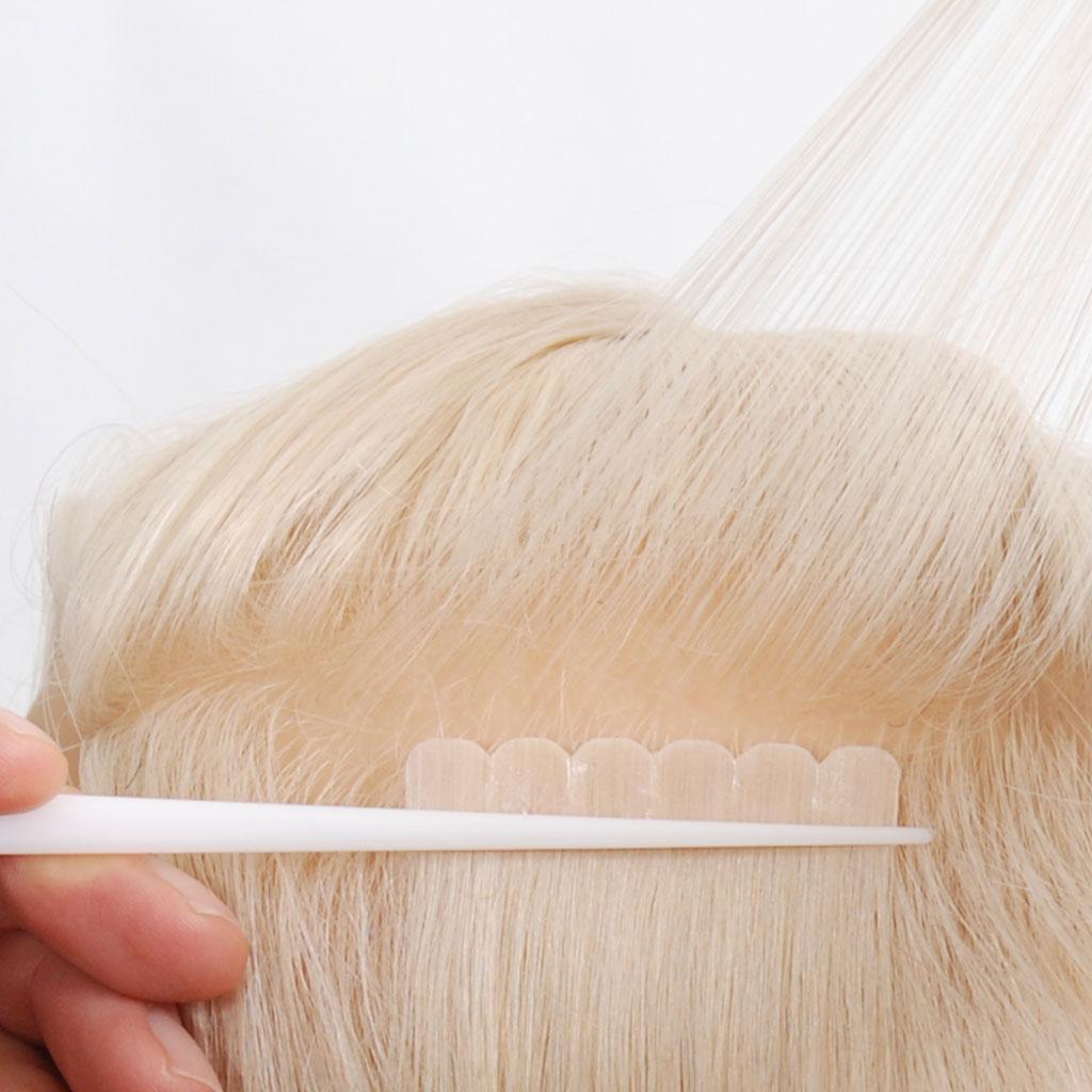 nordic tape hair extensions toepassen