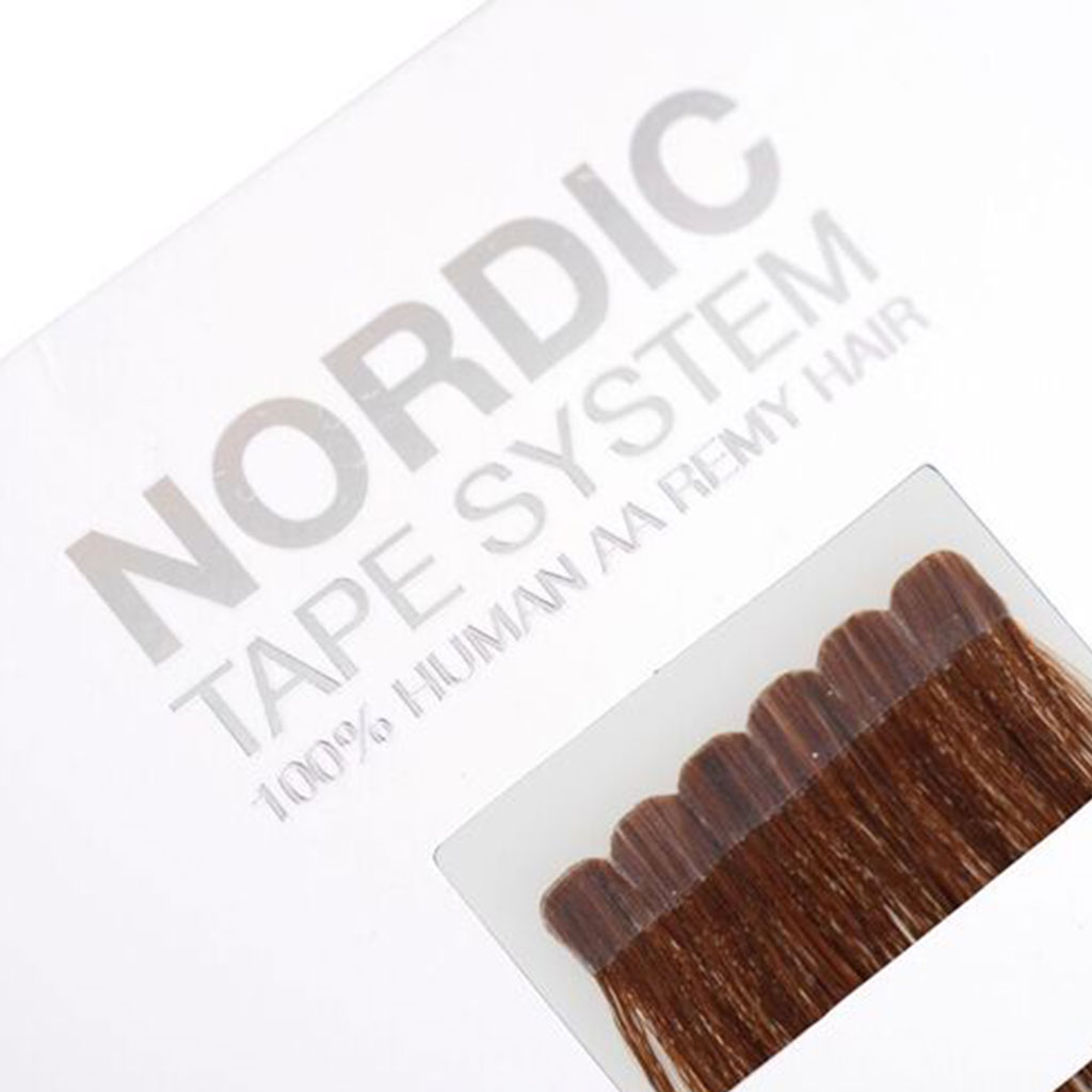tape-in hair extensions professionele nordic tape