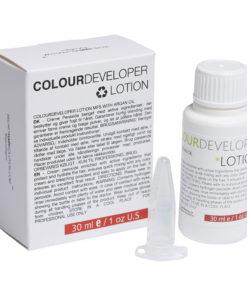 Colour developer lotion